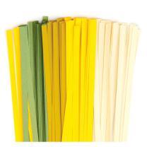 Karen - Marie Quilling Papierstreifen 5 mm creme / gelb /...