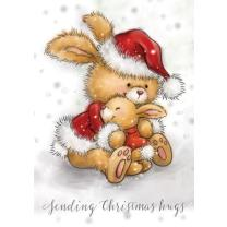 Wild Rose Studio CL512  Stempel clear stamp Christmas...