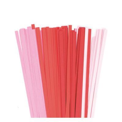 Karen - Marie Quilling Papierstreifen 5 mm cherry / rot / pink (264)