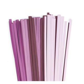 Quilling Papierstreifen 5 mm lila / violett / luxus violett (315)