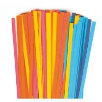 Quilling Papierstreifen 5 mm azur / blau / pink / gelb (370)