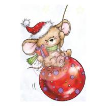 Wild Rose Studio CL425 Stempel clear stamp Mouse on...