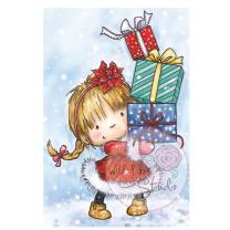 Wild Rose Studio CL422 Stempel clear stamp   Girl with...