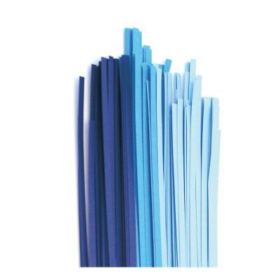 Quilling Papierstreifen 3 mm  blau / luxus blau (350)