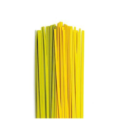 Quilling Papierstreifen 3 mm  grün / gelb (416)
