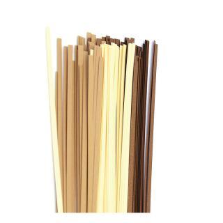 Quilling Papierstreifen 3 mm  braun / luxus braun (105)