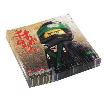 Lego Ninjago - 20 Servietten 33 x 33 cm
