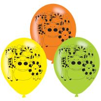 Luftballons, 6 Stück  - Tiere - Dschungeltiere -...