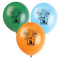 Steinzeit Party -  Luftballons, 8 Stück