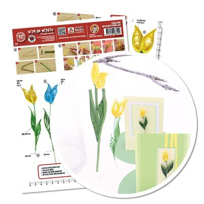 Quillingschablone/ Quillingboard Tulpen