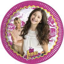 Soy Luna, 8 Teller ca. 23 cm, Pappteller