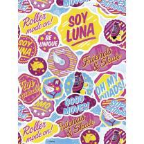 Soy Luna, Tischdecke 120 x 180 cm aus Kunststofffolie