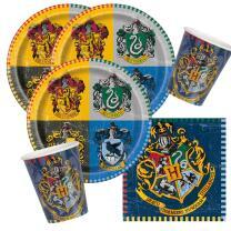 32-teiliges Party-Set Harry Potter - Teller Becher...
