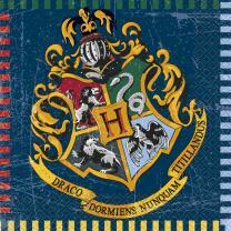 Harry Potter - Servietten, 16 Stück, 33 x 33 cm
