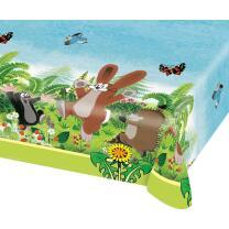 Der kleine Maulwurf   - Tischdecke 120 x 180 cm Kunststoff