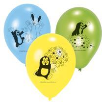 Der kleine Maulwurf - Luftballons, 6 Stück