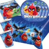 37-teiliges Party-Set Angry Birds Movie   - Teller Becher...