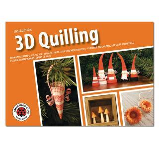 Karen Maries 3D Quilling Anleitungsheft