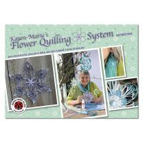 Karen Maries Blumen Quilling Anleitungsheft