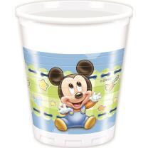 Disney Baby Mickey 1. Geburtstag - 8 Becher -...