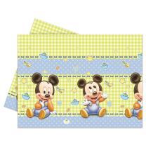 Disney Baby Mickey 1. Geburtstag - Tischdecke 120 x 180...