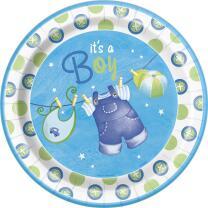 Baby Party  -  Babystrampler Junge  -  Teller,...