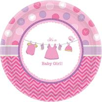33-teiliges Party Set Baby Shower With Love - Girl -...