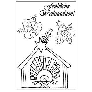 Efco (032) clear stamps Stempel Set - Fröhliche Weihnachten!