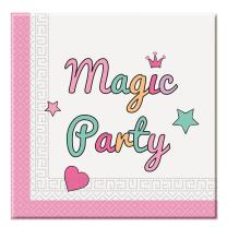 Einhorn Magic Party - Unicorn - 20 Servietten, 33 x 33 cm