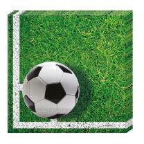 Fußball Party  - 20 Servietten, 33 x 33 cm