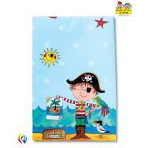 Rachel Ellen Pirat - Tischdecke 120 x 180 Kunststoff