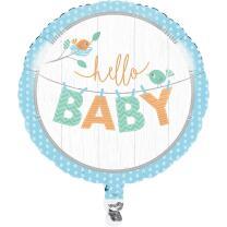Baby Party Baby shower -  Hello Baby Boy - Folienballon...