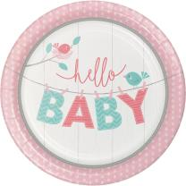 Baby Party Baby shower -  Hello Baby Girl -  Teller,...