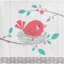 Baby Party Baby shower -  Hello Baby Girl - Servietten,...