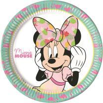 Teller - Pappteller. 23 cm, 8 Stück -  Minnie Mouse...