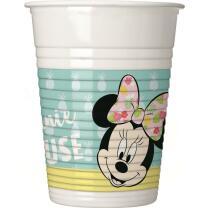 Becher , 8 Stück -  Minnie Mouse - Minnie Tropical